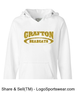 Bearcat Glitter Sweatshirt Design Zoom